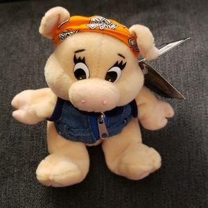 Stuffed Animal Harley-Davidson Pig.